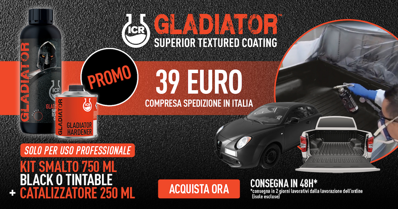 ADV GLADIATOR Superior textured coating