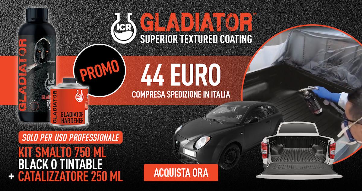 ADV GLADIATOR Superior textured coating